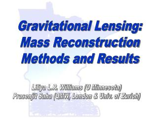 Gravitational Lensing: Mass Reconstruction Methods and Results