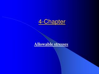 4-Chapter