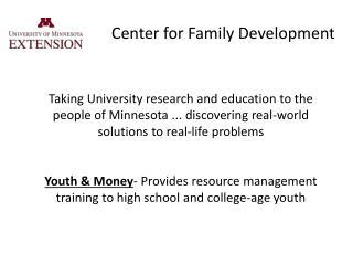 Center for Family Development