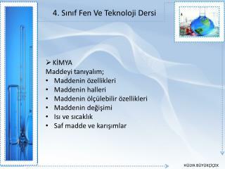 4. Sinif Fen Ve Teknoloji Dersi