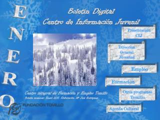 Bolet n Digital Centro de Informaci n Juvenil