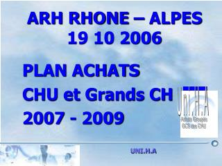 ARH RHONE   ALPES 19 10 2006