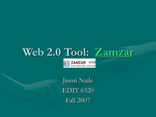 Web 2.0 Tool:  Zamzar