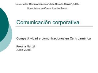 Comunicaci n corporativa