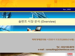 200310   Tel : 022108-8070 e-mail : consultingchemlocus