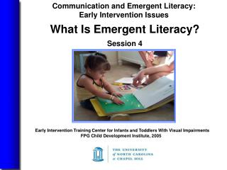 Early Intervention Training Center for Infants and Toddlers With Visual Impairments  FPG Child Development Institute, 20
