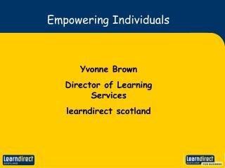 Empowering Individuals