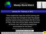 January 29   February 4, 2012