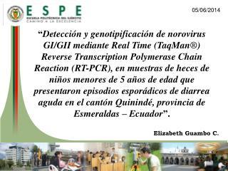 Detecci n y genotipificaci n de norovirus GI