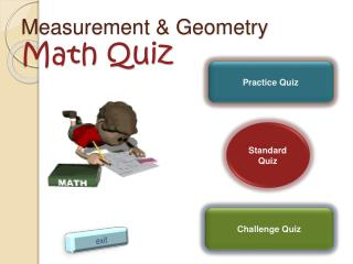 Measurement  Geometry Math Quiz