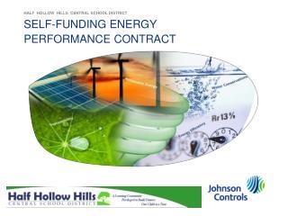 SELF-FUNDING ENERGY PERFORMANCE CONTRACT