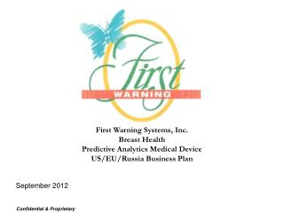 First Warning Systems, Inc. Breast Health Predictive Analytics Medical Device US
