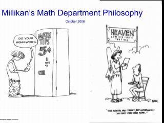 Millikan s Mathematics Department
