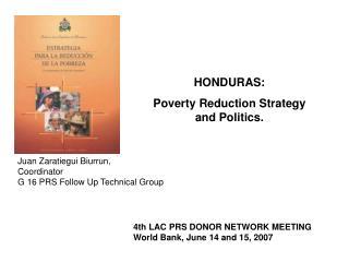 Presentati n ERP Pol tica Honduras