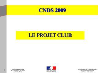 CNDS 2009
