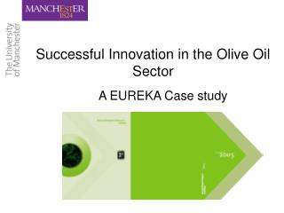 Successful Innovation in the Olive Oil Sector