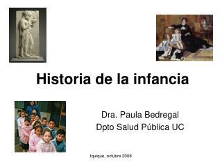 Historia de la infancia