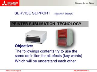 PRINTER SUBLIMATION  TEGNOLOGY
