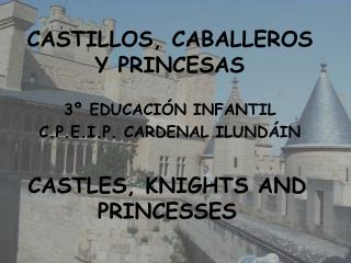 CASTILLOS, CABALLEROS Y PRINCESAS