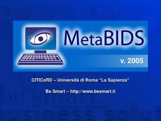 CITICoRD   Universit  di Roma  La Sapienza   Be Smart   besmart.it