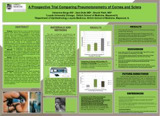 A Prospective Trial Comparing Pneumotonometry of Cornea and Sclera