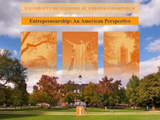 Entrepreneurship: An American Perspective