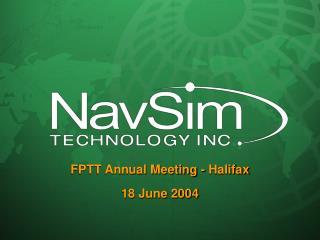 FPTT Annual Meeting - Halifax 18 June 2004