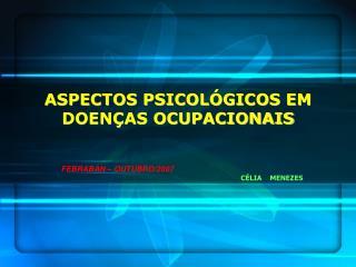 ASPECTOS PSICOL GICOS EM DOEN AS OCUPACIONAIS
