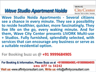 Wave Studio Noida @09999684905 City Center Noida