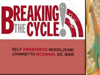 SELF AWARENESS MODELSAM JOHNNETTA MCSWAIN, BS, MSW