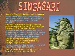 kerajaan singosari
