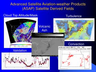 Advanced Satellite Aviation-weather Products ASAP Satellite Derived Fields