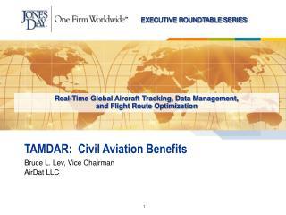 TAMDAR:  Civil Aviation Benefits