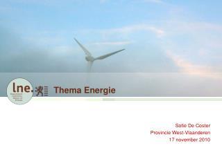 Thema Energie