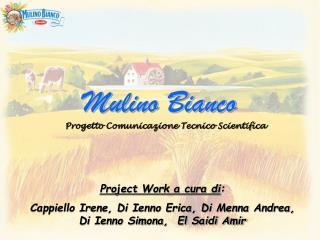 Project Work a cura di:  Cappiello Irene, Di Ienno Erica, Di Menna Andrea,  Di Ienno Simona,  El Saidi Amir
