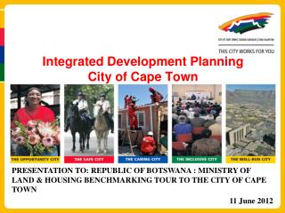 Integrated Development Planning  City of Cape Town