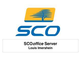 SCOoffice Server Louis Imershein