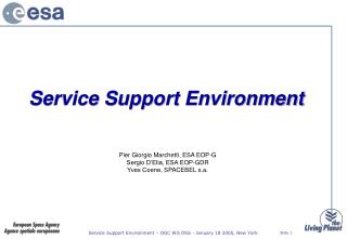 Service Support Environment