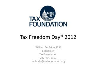 Tax Freedom Day  2012