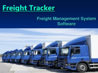 Freight Management System Software