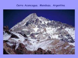 Cerro Aconcagua. Mendoza. Argentina