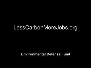 LessCarbonMoreJobs