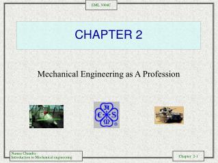 Mechanical Engineering as A Profession