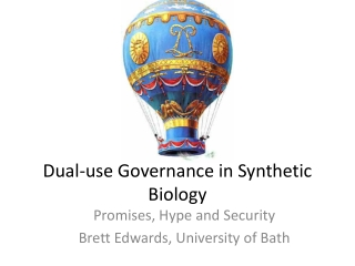 Synthetic Biology Overview