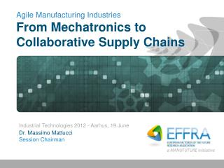 Agile Manufacturing Industries From Mechatronics to Collaborative Supply Chains
