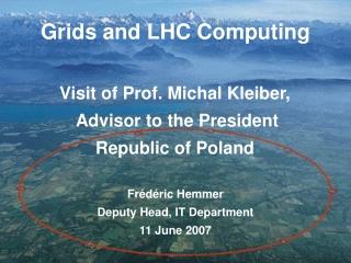 Prof. Michal KLEIBER