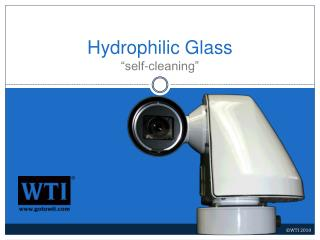 Hydrophilic Glass  self-cleaning