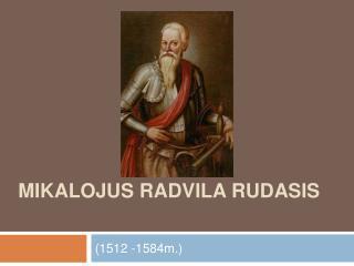 Mikalojus Radvila Rudasis