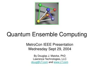 Quantum Ensemble Computing