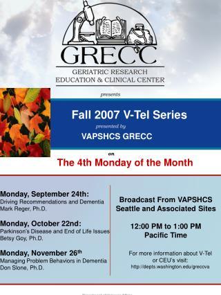 Fall 2007 V-Tel Series
